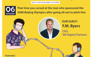 That time you cursed at the man who sponsored the 2008 Beijing Olympics after going all-out to pitch him (with F.M. Byers)
