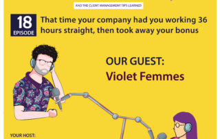 That time your company had you working 36 hours straight, then took away your bonus (with Violet Femm)